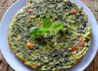 Cookin' Greens Frittata
