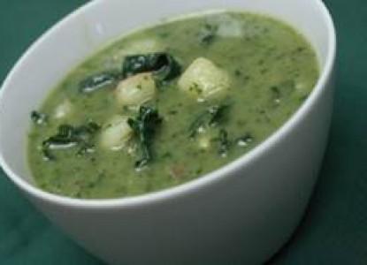 Cookin' Greens Potato & Kale Soup