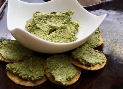 Cookin' Greens Chopped Spinach Cashew Pate