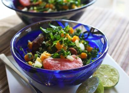 Cookin' Greens Citrus Kale, Butternut Squash, Quinoa Power Bowl