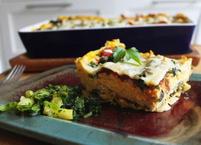 Cookin' Greens Kale & Pumpkin Lasagna
