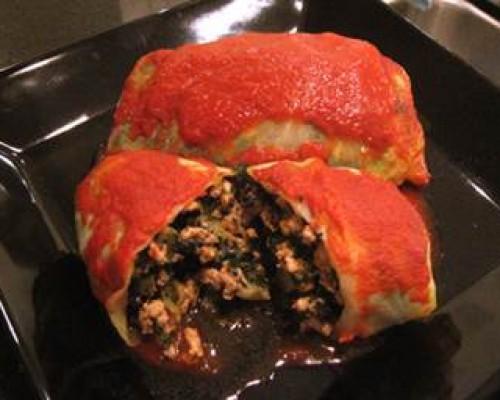 Cookin' Greens Rockin' Cabbage Rolls