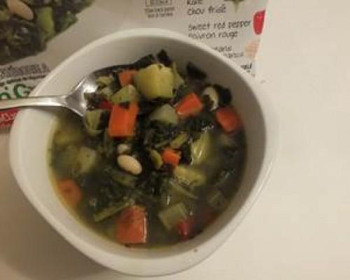 Cookin' Greens Veggie Soup