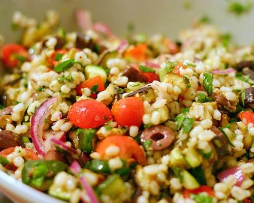 Cookin' Greens Mediterranean Pearl Barley Salad