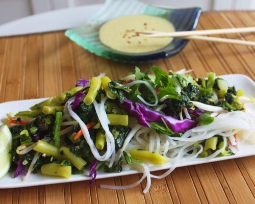 Cookin' Greens Tarami Pad Thai