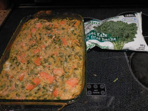 Example of Cookin' Greens Recipe Contest photo