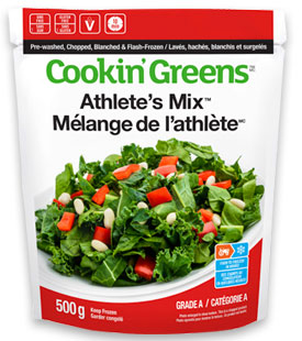 Cookin'Greens Athlete's Mix