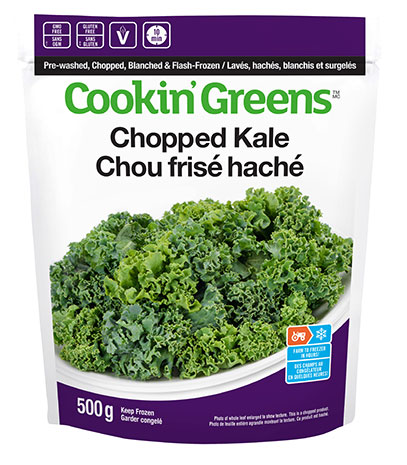 Cookin'Greens Chopped Kale
