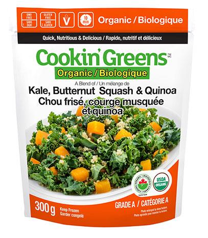 Cookin'Greens Kale, Butternut Squash & Quinoa
