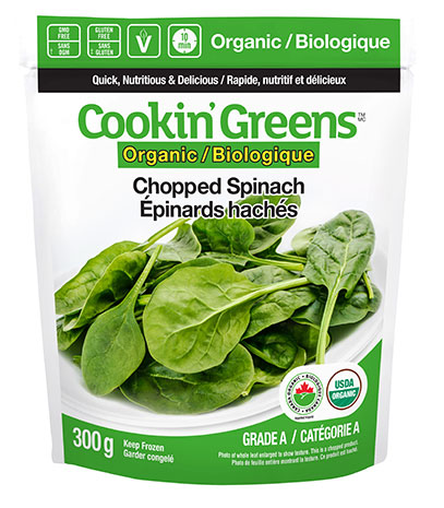 Cookin'Greens Organic Spinach
