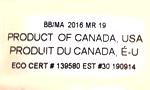 Organics Production Code