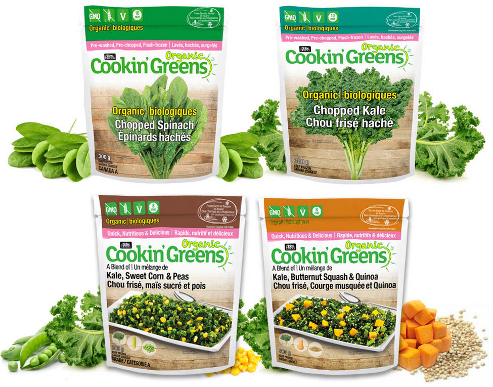Cookin' Greens New Organic Products