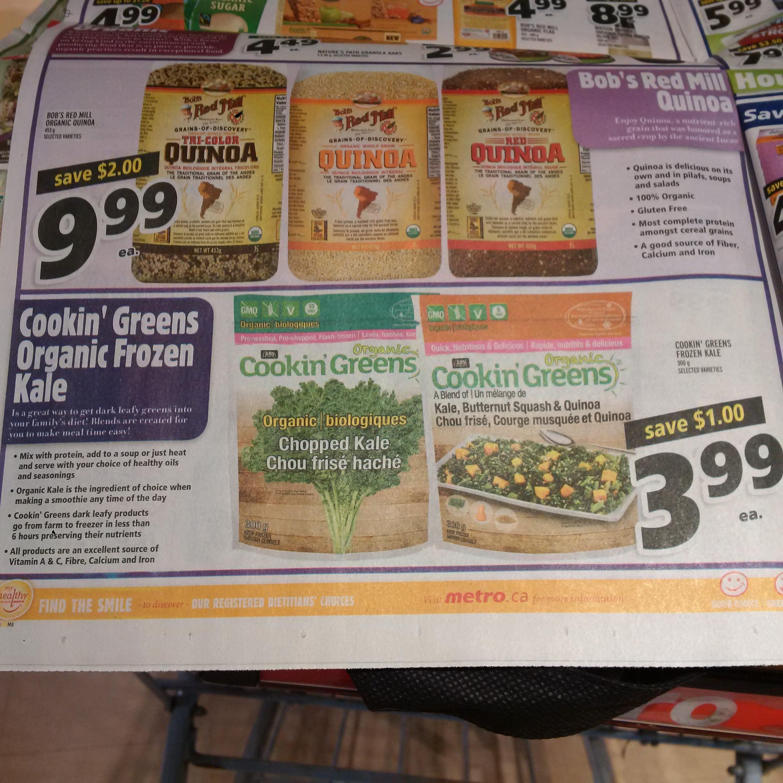 Cookin' Greens Flyer