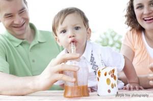 Kids + Glass Straws