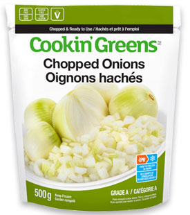 Cookin'Greens Chopped Onions
