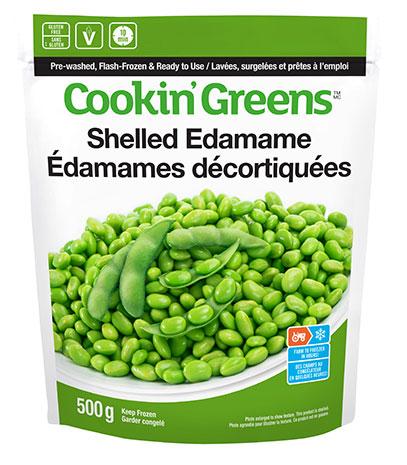 Cookin'Greens Shelled Edamame