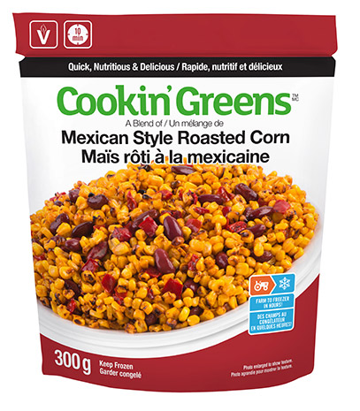 Cookin'Greens Mexican Style Roasted Corn