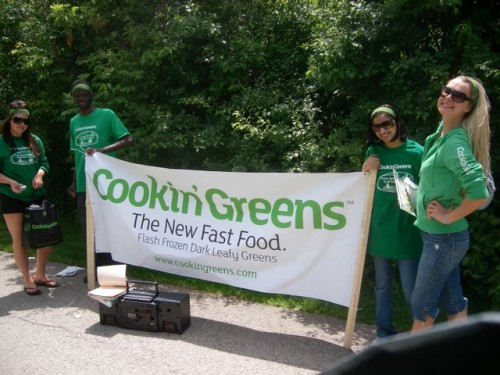 Some of the  Cookin' Greens  Street Team