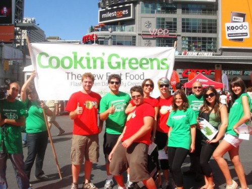 Cookin' Greens on the TIFF red carpet