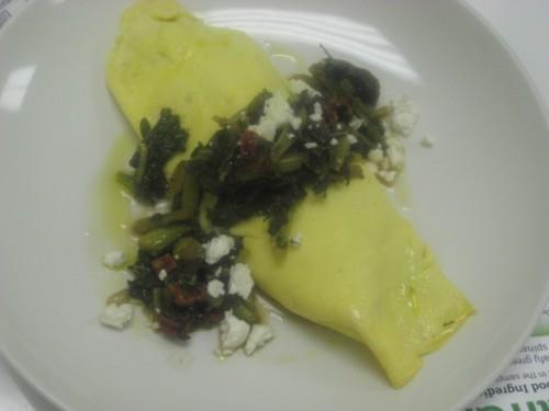 Cookin' Greens Gourmet Omelete