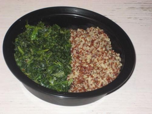 Cookin' Greens Rapini, Kale & Quinoa
