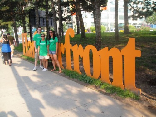 Harbourfront Goes Green