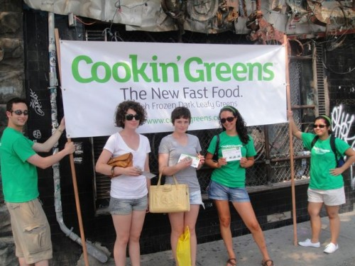 These ladies seemed like they were already  avid greens enthusiasts  and loved kale already