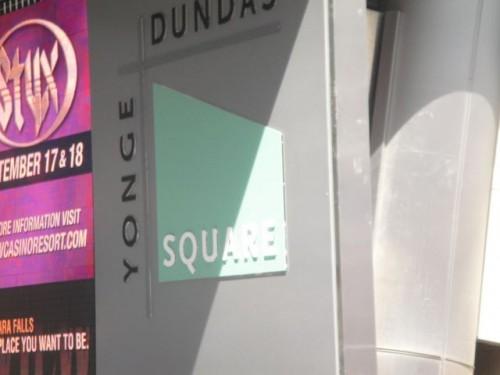 World famous Yonge & Dundas  Square
