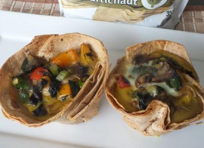 Cookin' Greens Egg & Veggie Mega Muffins