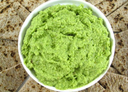 Cookin' Greens Edamame Hummus with Spinach