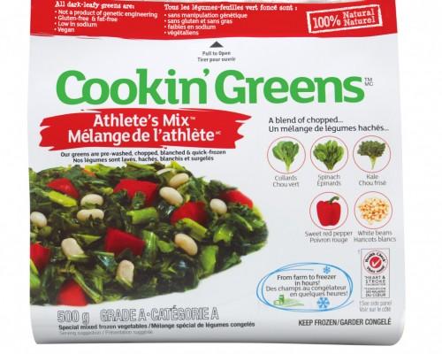 Cookin' Greens Black Bean Burrito
