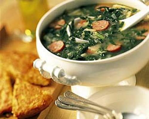 Cookin' Greens Caldo Verde Soup