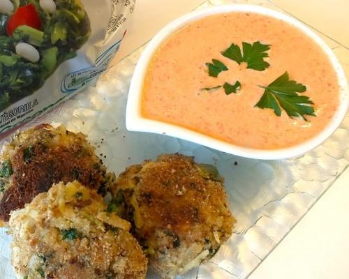 Cookin' Greens Designer Salmon & Potato Croquettes