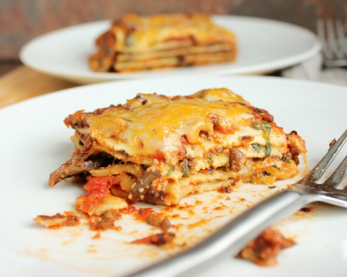Cookin' Greens Meatless Lasagna