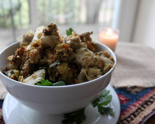 Cookin' Greens Savoury Kale, Butternut Squash & Quinoa Side Dish