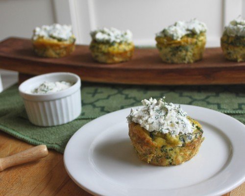 Cookin' Greens Rise and Shine Savoury Cupcakes