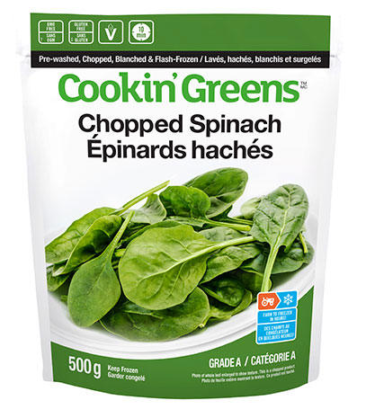 Cookin'Greens Classic Spinach