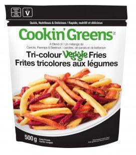 Cookin' Greens Tri-colour Veggie Fries